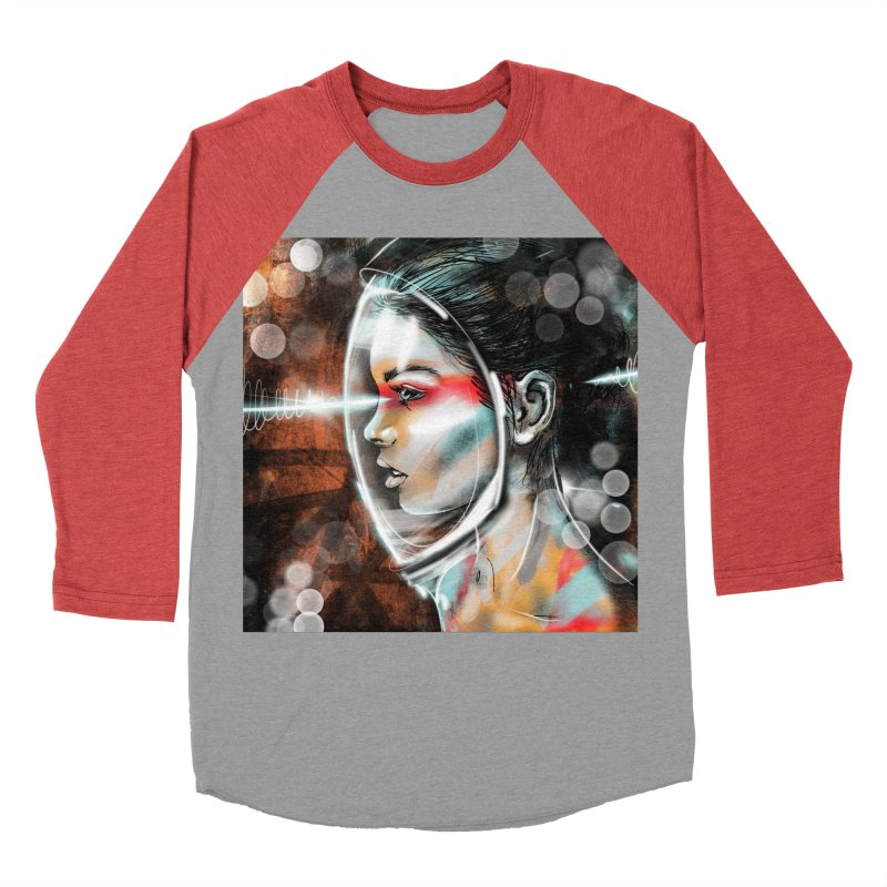 Nova Spike 01 Men's Baseball Triblend T-Shirt by Vin Zzep's Artist Shop