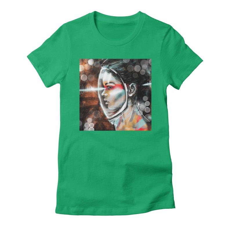 Nova Spike 01 Women's Fitted T-Shirt by Vin Zzep's Artist Shop