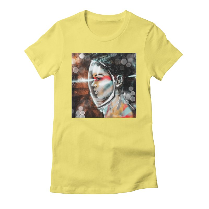 Nova Spike 01 Women's Fitted T-Shirt by Vin Zzep's Artist Shop