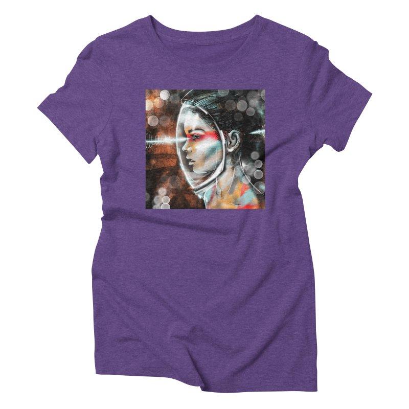 Nova Spike 01 Women's Triblend T-Shirt by Vin Zzep's Artist Shop