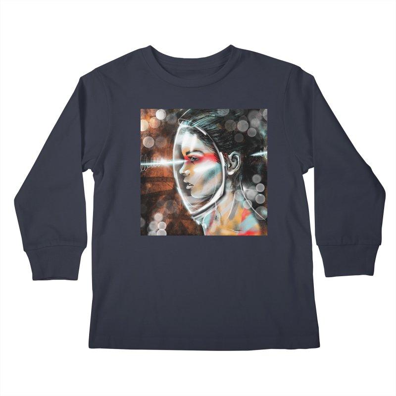 Nova Spike 01 Kids Longsleeve T-Shirt by Vin Zzep's Artist Shop