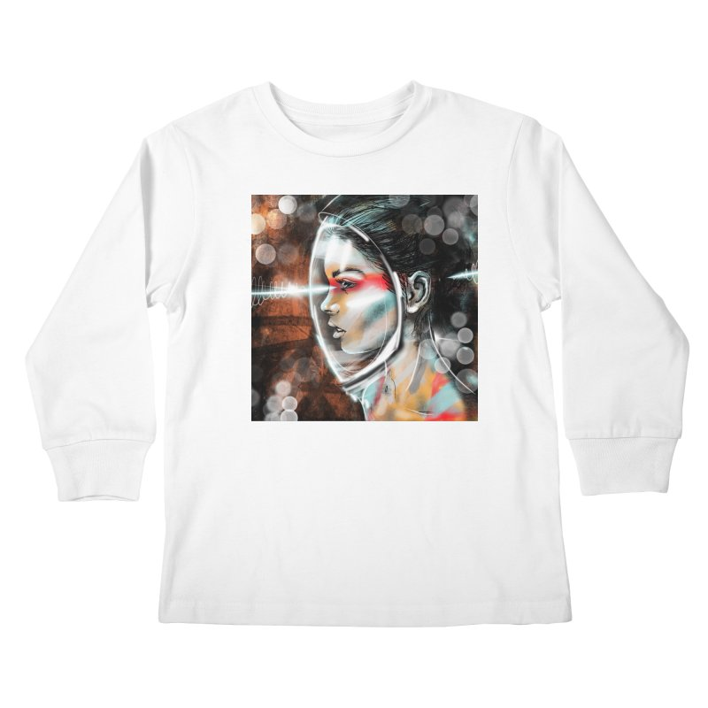 Nova Spike 01 Kids Longsleeve T-Shirt by Vin Zzep's Artist Shop