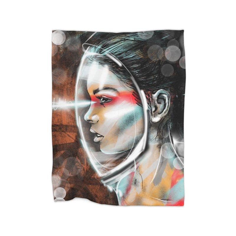 Nova Spike 01 Home Blanket by Vin Zzep's Artist Shop