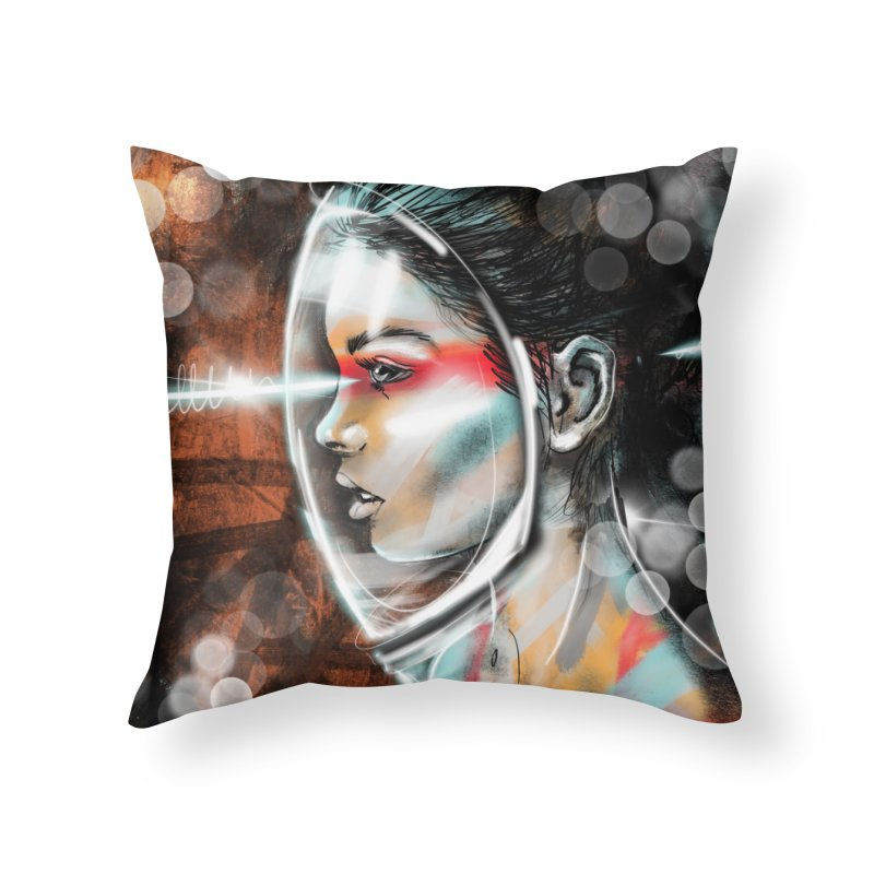 Nova Spike 01 Home Throw Pillow by Vin Zzep's Artist Shop