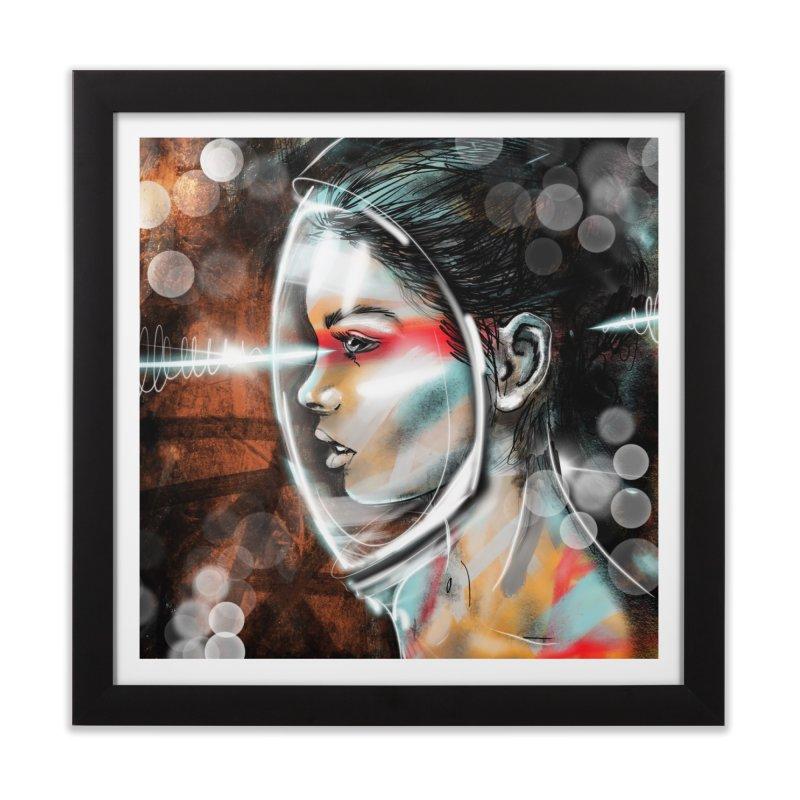 Nova Spike 01 Home Framed Fine Art Print by Vin Zzep's Artist Shop