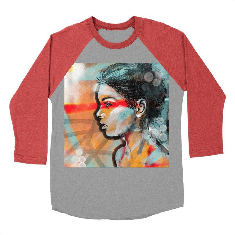 Nova Women's Baseball Triblend T-Shirt by Vin Zzep's Artist Shop