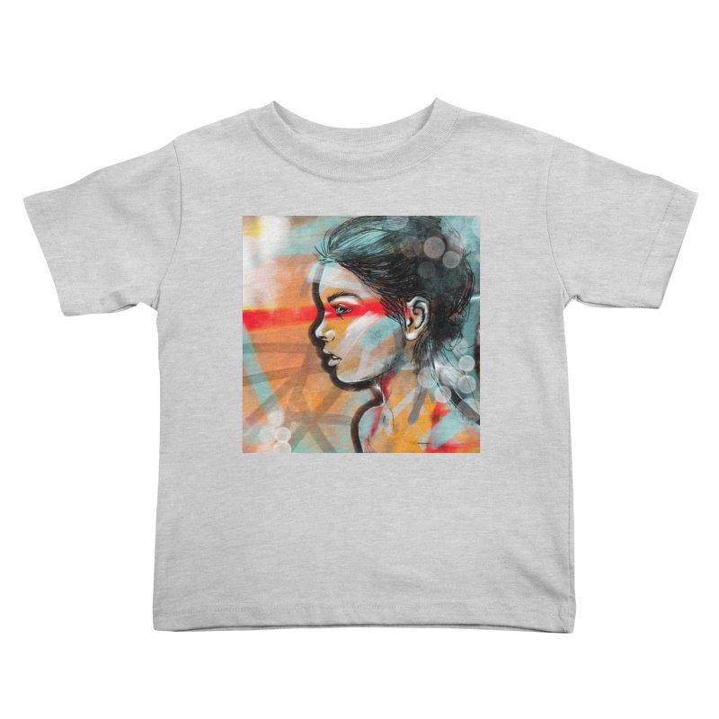 Nova Kids Toddler T-Shirt by Vin Zzep's Artist Shop