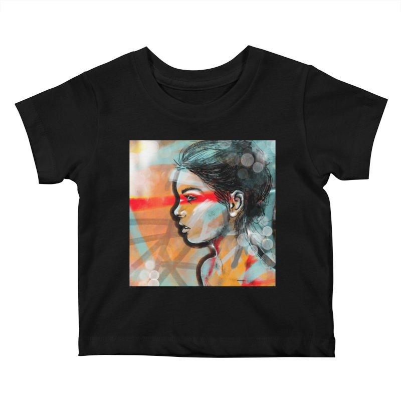 Nova Kids Baby T-Shirt by Vin Zzep's Artist Shop