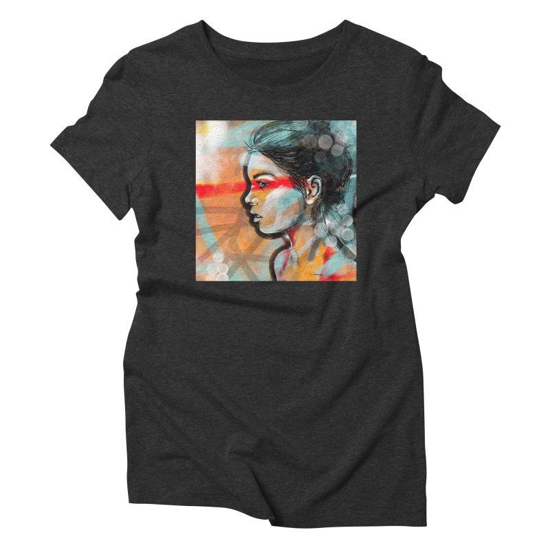 Nova Women's Triblend T-Shirt by Vin Zzep's Artist Shop