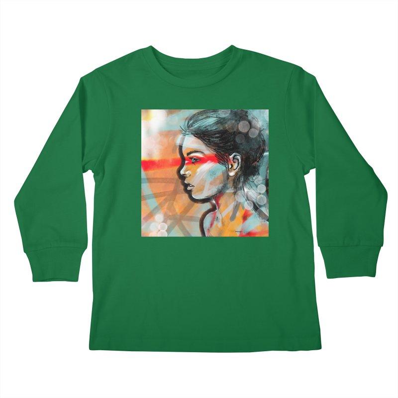 Nova Kids Longsleeve T-Shirt by Vin Zzep's Artist Shop