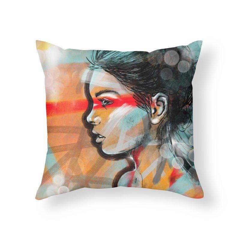 Nova Home Throw Pillow by Vin Zzep's Artist Shop