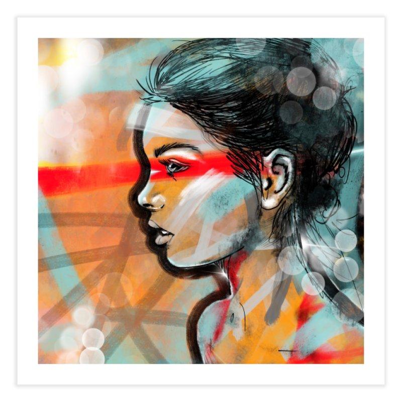 Nova Home Fine Art Print by Vin Zzep's Artist Shop