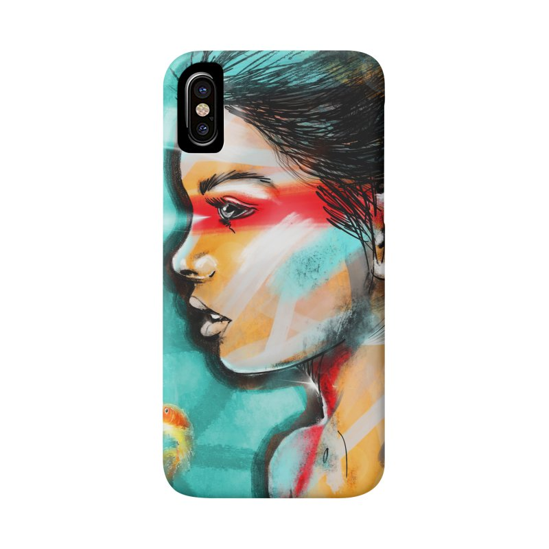 Goldfish Dreaming Accessories Phone Case by Vin Zzep's Artist Shop