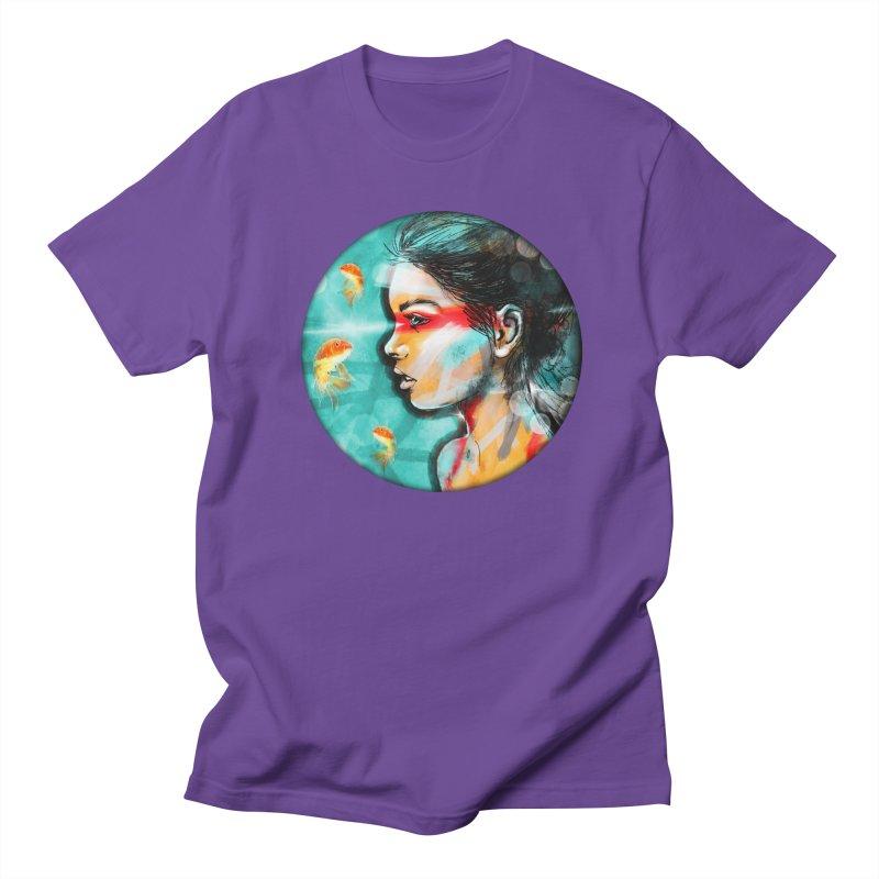 Goldfish Dreaming Men's T-Shirt by Vin Zzep's Artist Shop