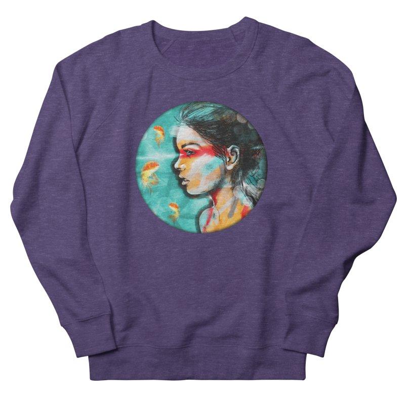 Goldfish Dreaming Men's Sweatshirt by Vin Zzep's Artist Shop