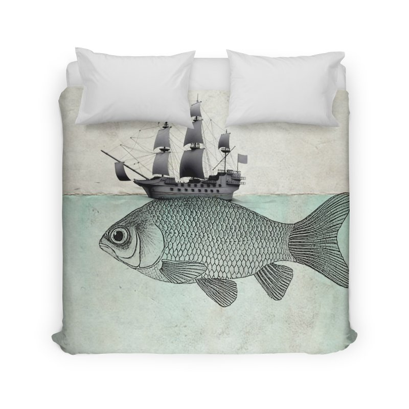 Water line Home Duvet by Vin Zzep's Artist Shop