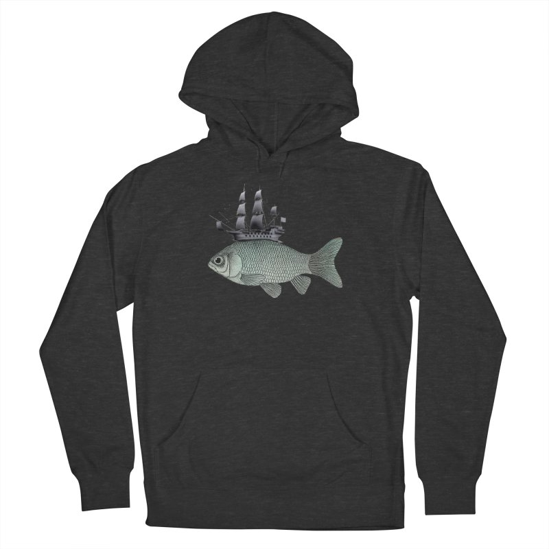 Water line Men's Pullover Hoody by Vin Zzep's Artist Shop