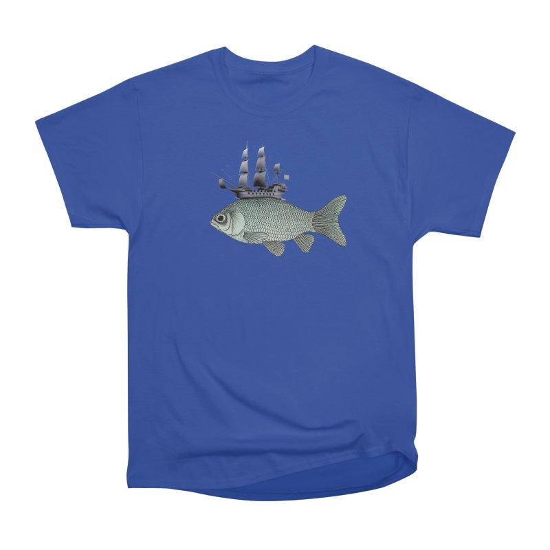 Water line Women's Classic Unisex T-Shirt by Vin Zzep's Artist Shop