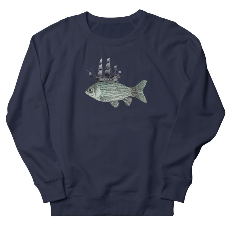 Water line Women's Sweatshirt by Vin Zzep's Artist Shop