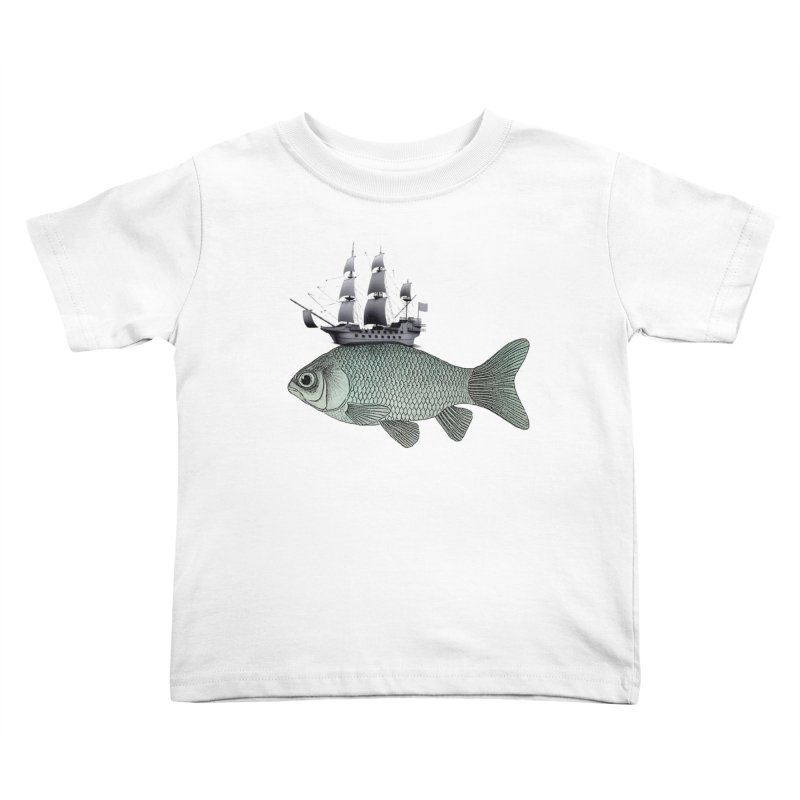 Water line Kids Toddler T-Shirt by Vin Zzep's Artist Shop
