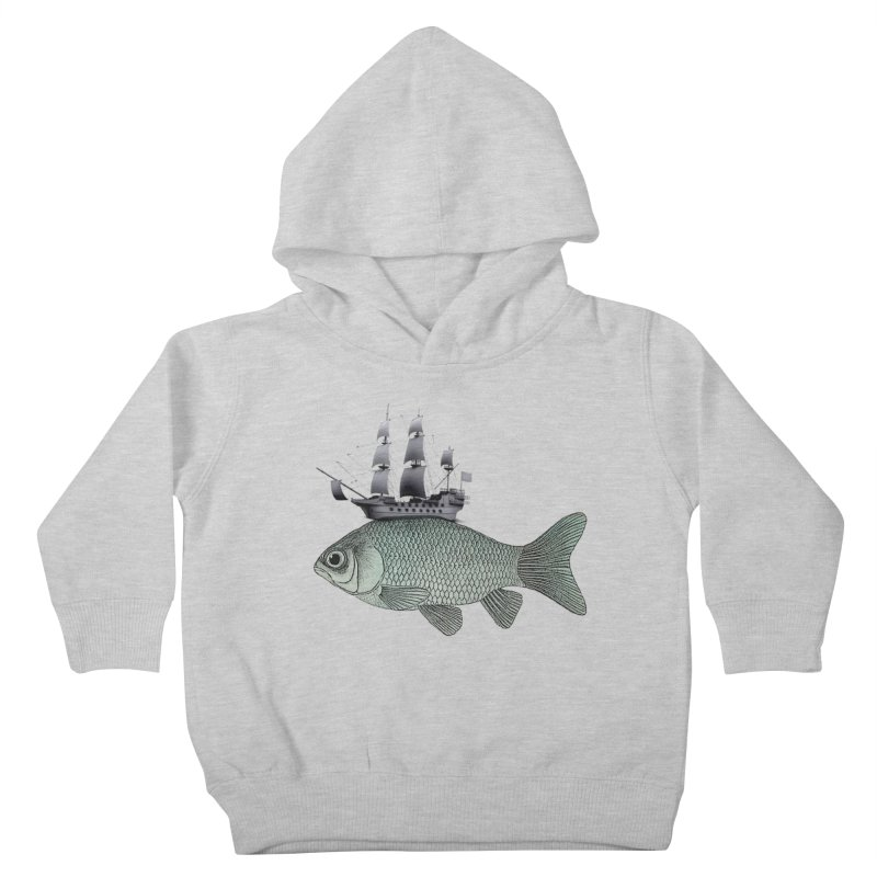 Water line Kids Toddler Pullover Hoody by Vin Zzep's Artist Shop