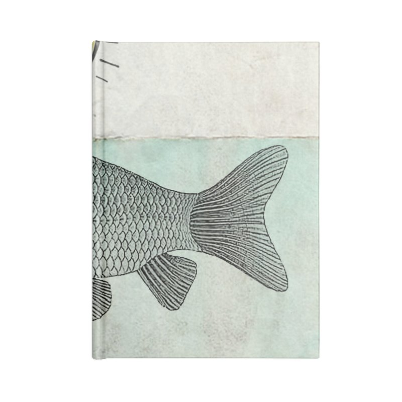 Ideas and Goldfish Accessories Notebook by Vin Zzep's Artist Shop