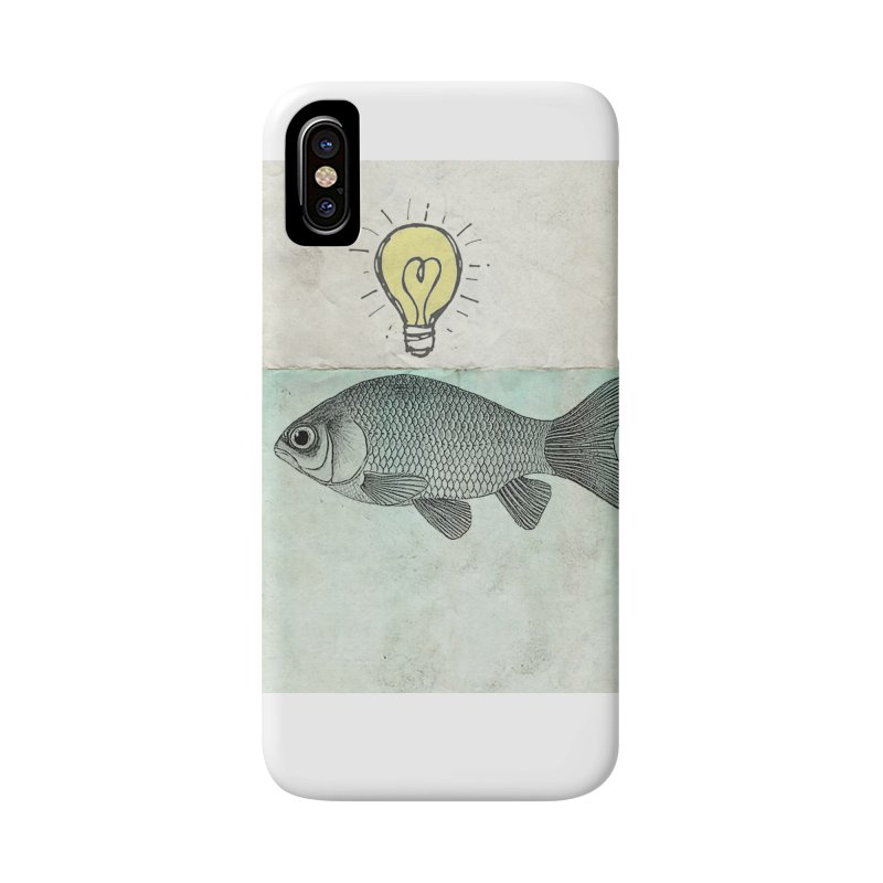 Ideas and Goldfish Accessories Phone Case by Vin Zzep's Artist Shop