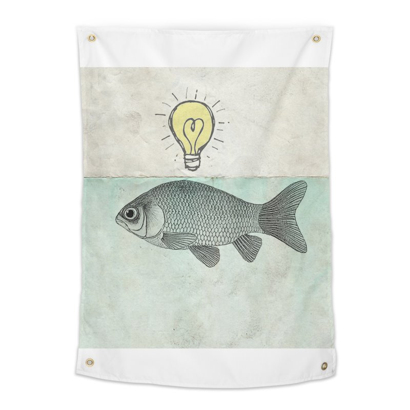 Ideas and Goldfish Home Tapestry by Vin Zzep's Artist Shop