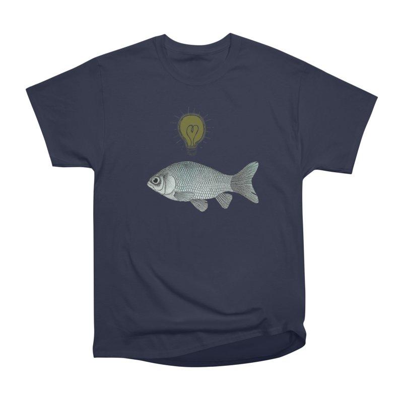 Ideas and Goldfish Women's Classic Unisex T-Shirt by Vin Zzep's Artist Shop