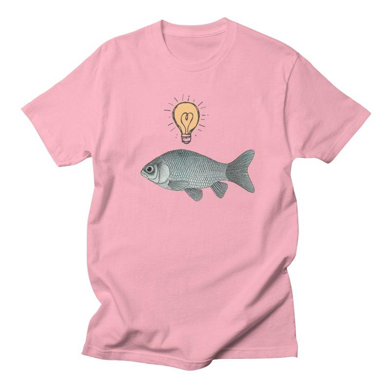 Ideas and Goldfish Men's T-Shirt by Vin Zzep's Artist Shop
