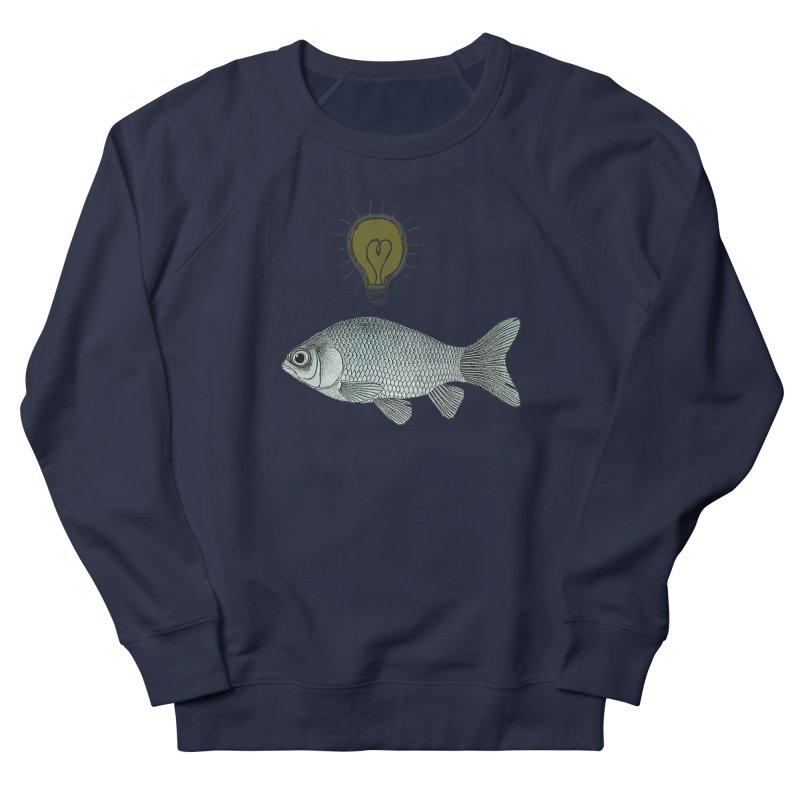 Ideas and Goldfish Men's Sweatshirt by Vin Zzep's Artist Shop
