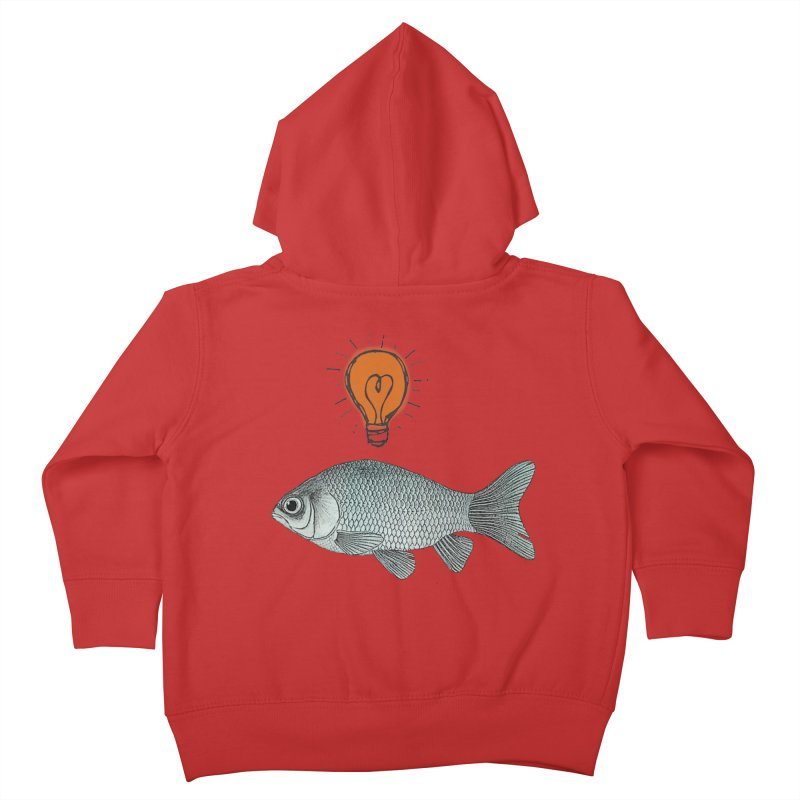 Ideas and Goldfish Kids Toddler Zip-Up Hoody by Vin Zzep's Artist Shop