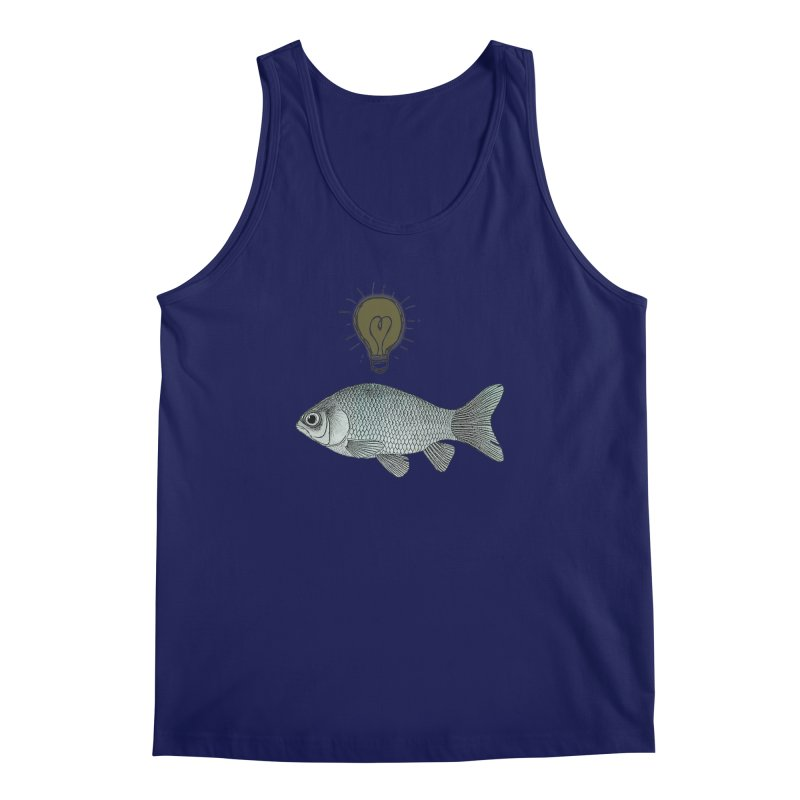 Ideas and Goldfish Men's Tank by Vin Zzep's Artist Shop