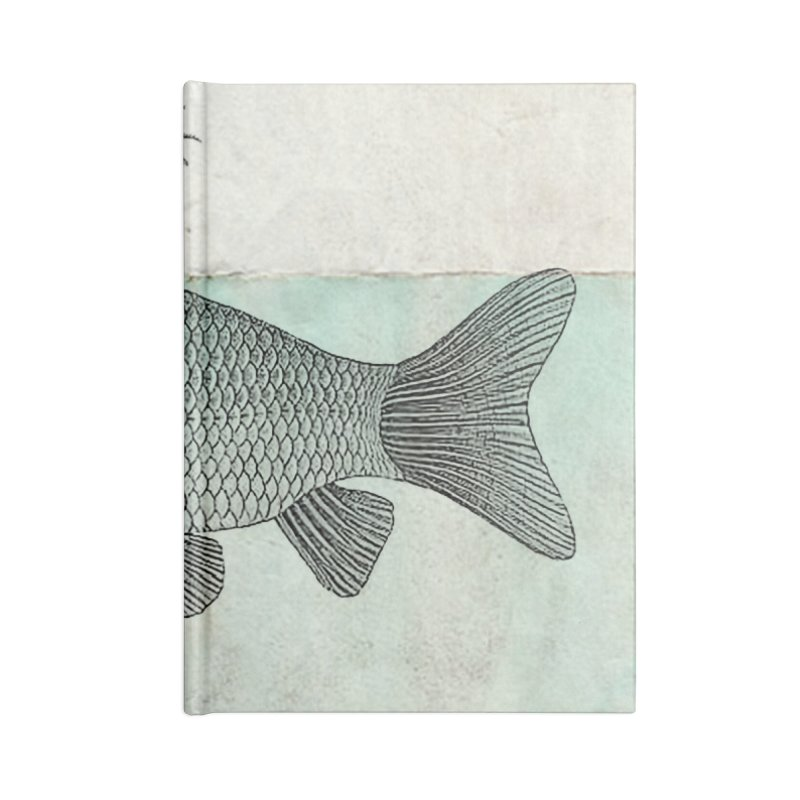 Paradise Goldfish Accessories Notebook by Vin Zzep's Artist Shop