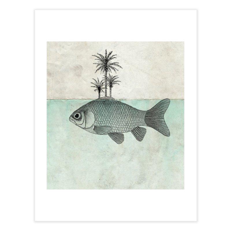 Paradise Goldfish Home Fine Art Print by Vin Zzep's Artist Shop