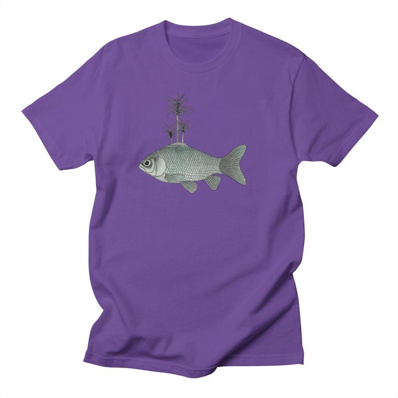 Paradise Goldfish Men's T-Shirt by Vin Zzep's Artist Shop