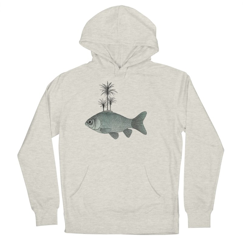 Paradise Goldfish Women's Pullover Hoody by Vin Zzep's Artist Shop