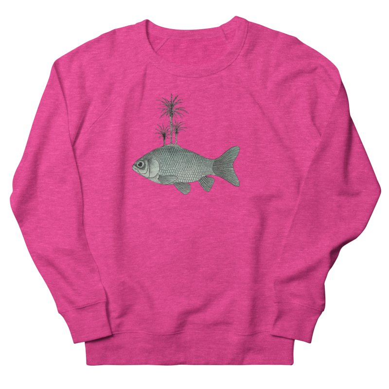 Paradise Goldfish Women's Sweatshirt by Vin Zzep's Artist Shop