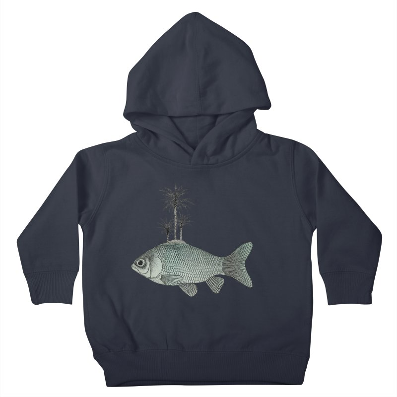 Paradise Goldfish Kids Toddler Pullover Hoody by Vin Zzep's Artist Shop