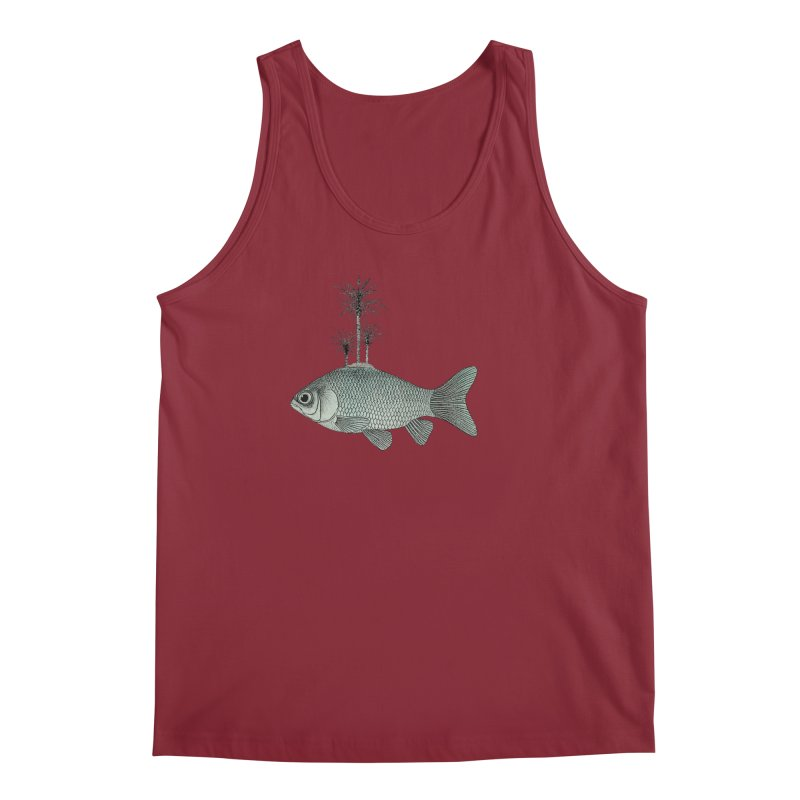 Paradise Goldfish Men's Tank by Vin Zzep's Artist Shop