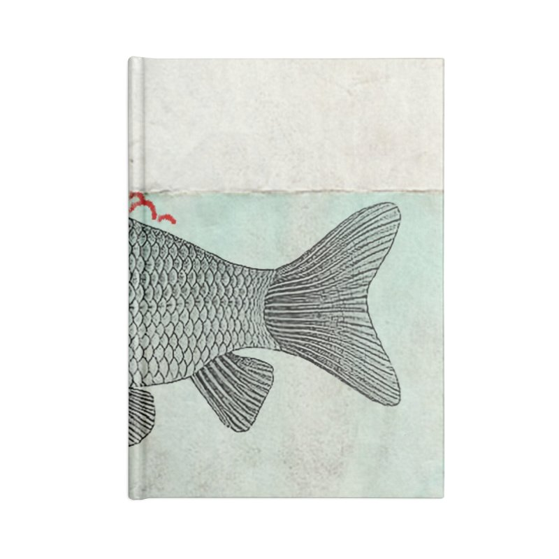 Periscope Goldfish Accessories Notebook by Vin Zzep's Artist Shop