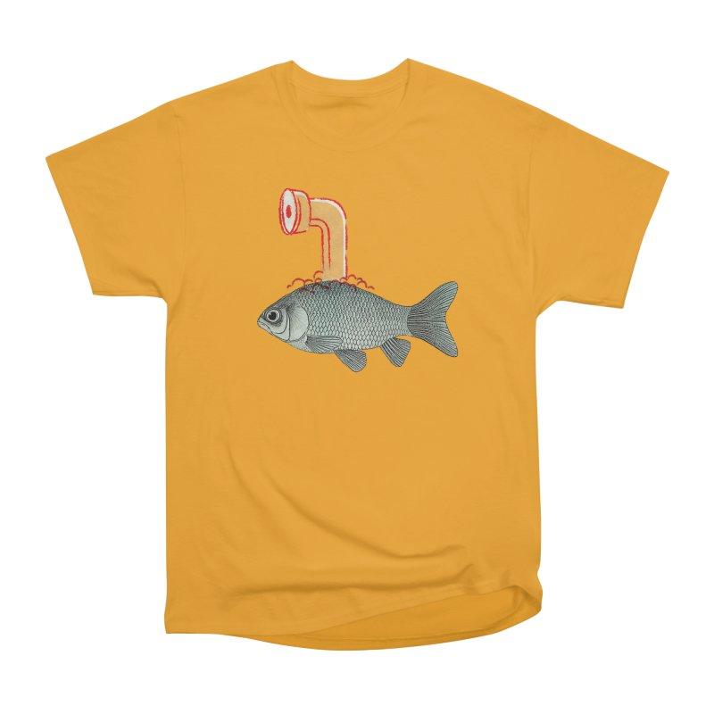 Periscope Goldfish Women's Classic Unisex T-Shirt by Vin Zzep's Artist Shop