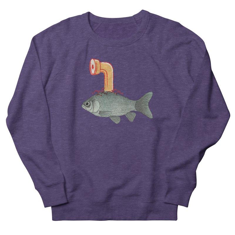 Periscope Goldfish Men's Sweatshirt by Vin Zzep's Artist Shop