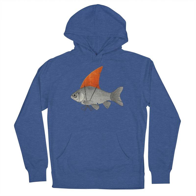 Shark Fin Goldfish Women's Pullover Hoody by Vin Zzep's Artist Shop