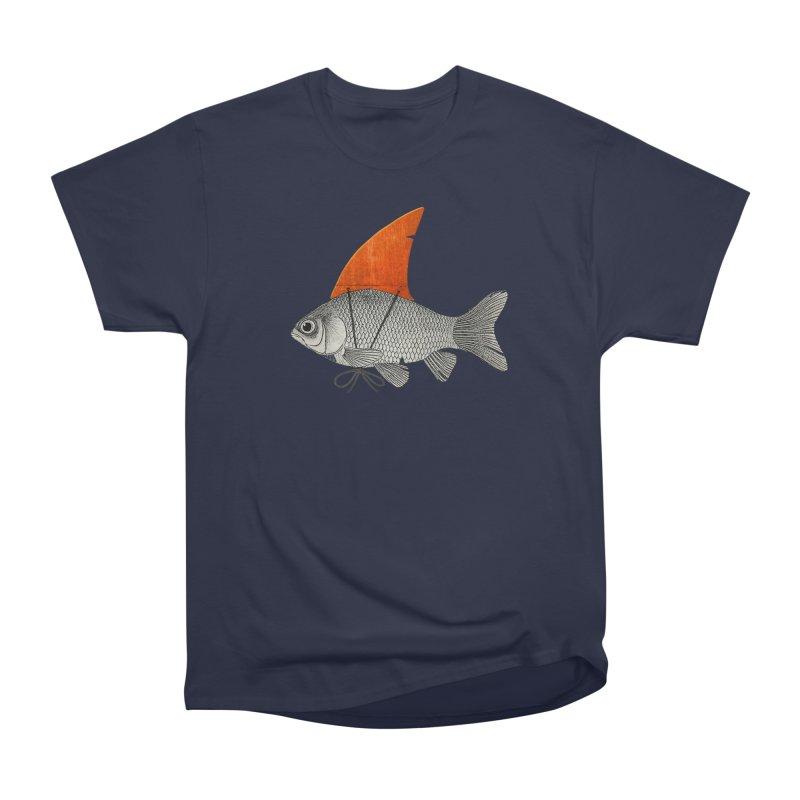 Shark Fin Goldfish Men's Classic T-Shirt by Vin Zzep's Artist Shop