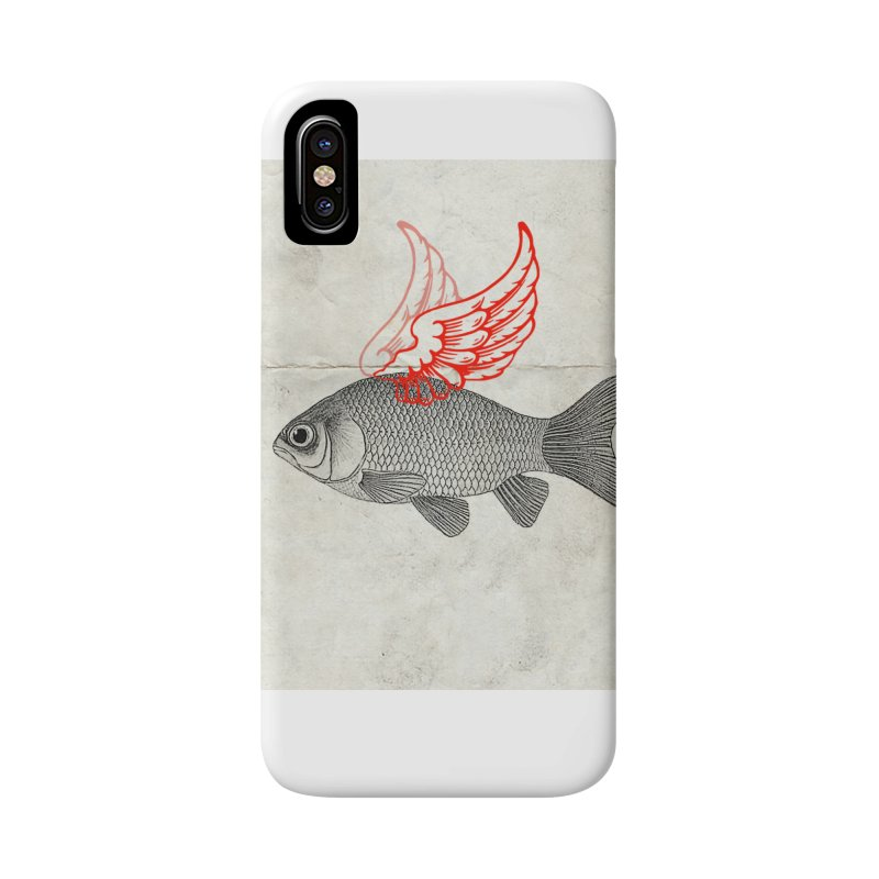 Flying Fish Accessories Phone Case by Vin Zzep's Artist Shop