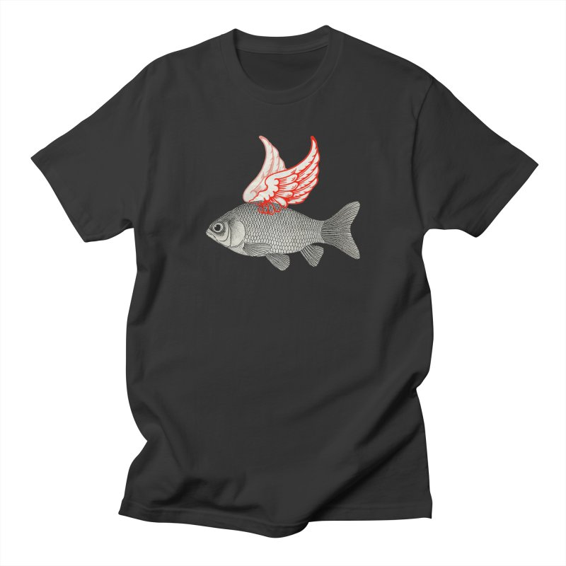 Flying Fish Women's Unisex T-Shirt by Vin Zzep's Artist Shop