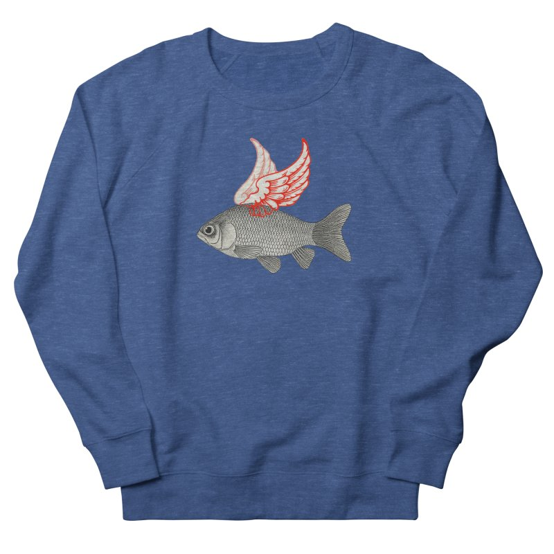 Flying Fish Women's Sweatshirt by Vin Zzep's Artist Shop