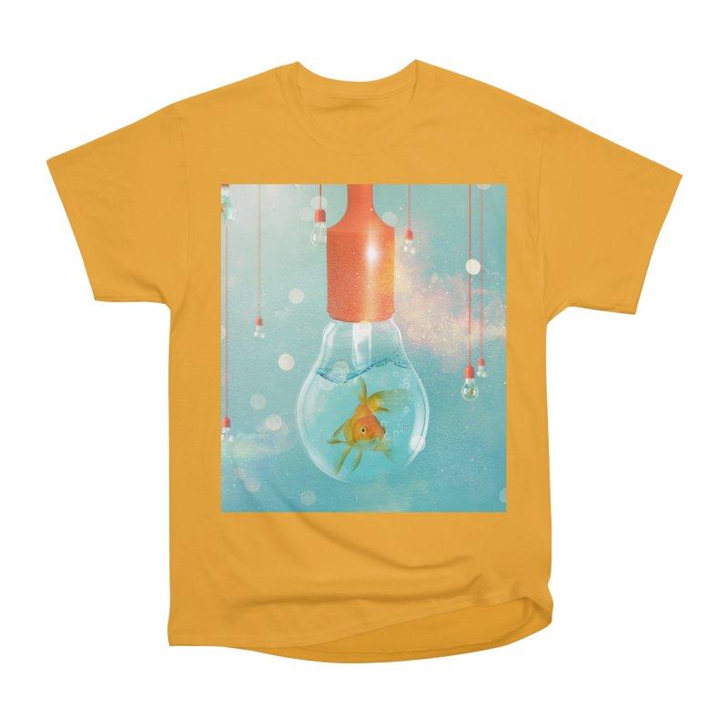 Goldfish Ideas Men's Classic T-Shirt by Vin Zzep's Artist Shop