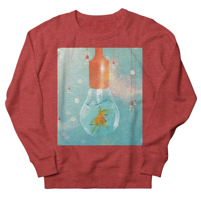 Goldfish Ideas Men's Sweatshirt by Vin Zzep's Artist Shop